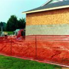 Safety Barrier Type A (orange visual fencing)